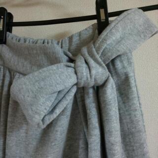 巻きロング スカート