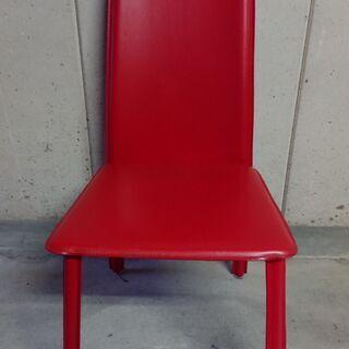 椅子 チェア レッド