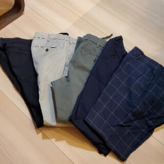 パンツ5着 使用期間1年未満 タケオキクチ ユニクロ