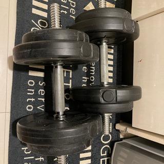 FIELDOOOR ダンベル(10kg×2)セット