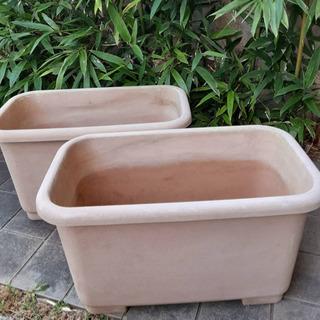 ★お取引き中★大きい植木鉢 プランター 家庭菜園用