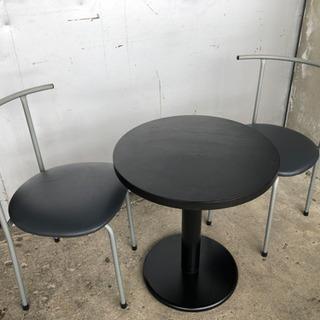 コンパクト ダイニングセット 応接セット 休憩所 丸テーブル