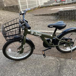 子供用自転車18インチ☆Jeep