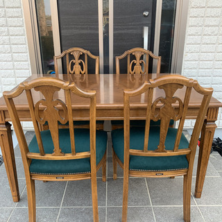 ドマーニ ダイニング5点セット カリモク チェア 椅子
