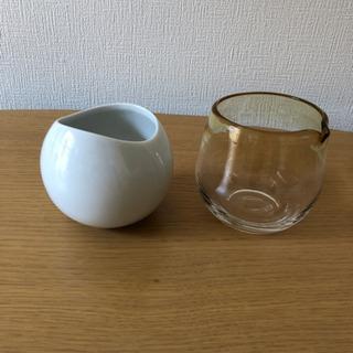 陶器とガラス