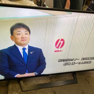 【美品】SONY 49型 4K液晶 テレビ ブラビア KJ-49...