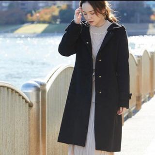 vis ノーカラーコート ブラック 新品未使用 定価16280円