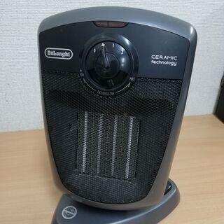 デロンギ セラミックファンヒーター (首振り&送風機能付き…