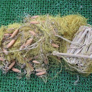漁具 投網 磯打用 漁師が使っていたプロの物 2
