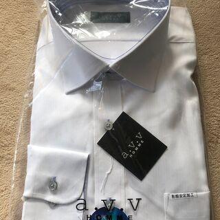 A.V.V HOMME 長袖Yシャツ 白