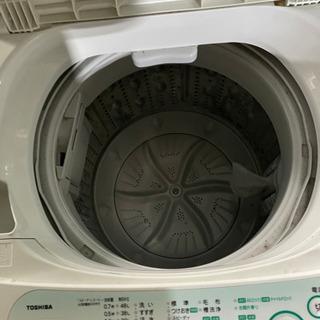 k0208-18 TOSHIBA 東芝 洗濯機 AW-305 5kg 2011年 - かほく市