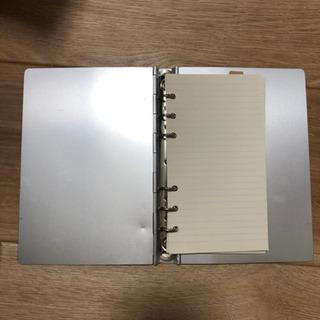 アルミの手帳ケース(約A6サイズ)