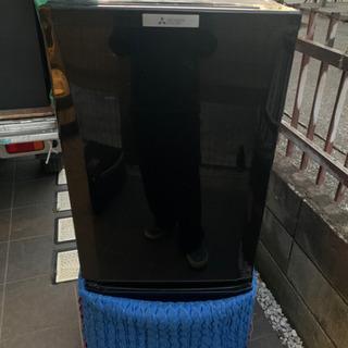 【美品2019年製】三菱2ドア冷蔵庫