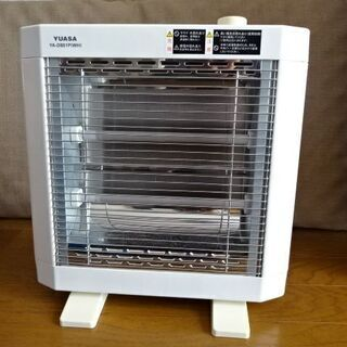 電気ストーブ ユアサ YUASA YA-D801P(WH) 暖房...