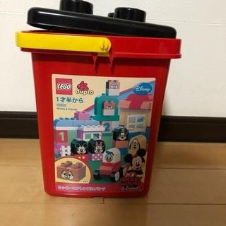 更に値下げ!LEGO デュプロ ミッキーフレンズバケツ
