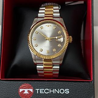 【未使用品】テクノス TECHNOS 腕時計 オールステンレス ...