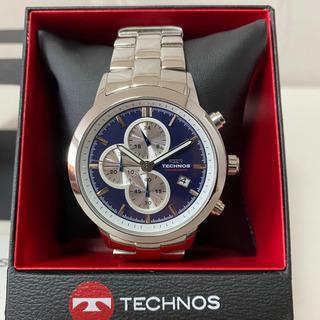 【新品・未使用品】テクノス TECHNOS 腕時計 クロノグラフ...