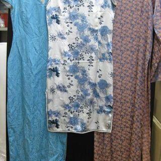 チャイナドレス レディース 3点セット サイズ色々 長袖 半袖 ...