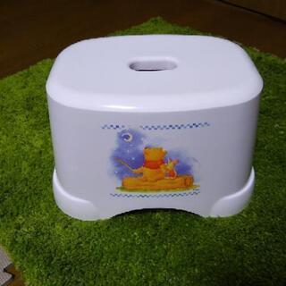 【値下げ新品未使用】プーさんのお風呂場椅子