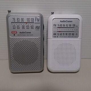 オーム電機 ラジオX2台