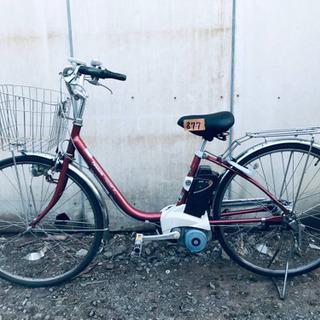 877番 電動自転車✨ /Panasonic ビビ・ENS…