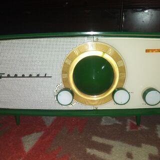 【ネット決済・配送可】ゼネラル5M-590 珍品真空管ラジオ