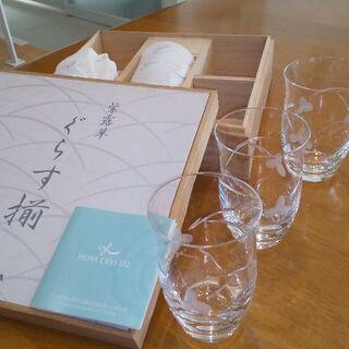 HOYAクリスタルグラス5点セット(美品)