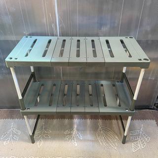 格安‼️収納ラック 伸縮式 2個セット