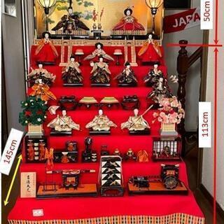 雛人形・7段飾り(吉徳大光)