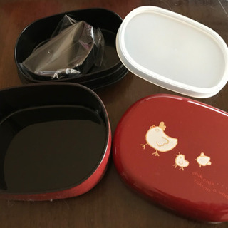 1個の価格です!お弁当箱×2種類 山中漆器 - その他