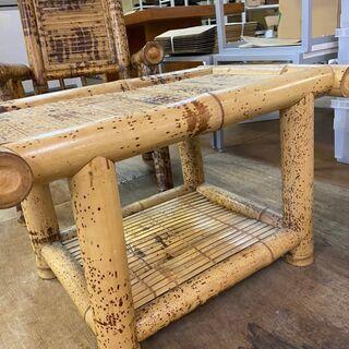 値下げ‼︎アジアンテイスト バンブーテーブル 竹