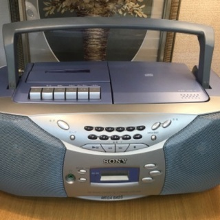ソニー SONY CFD-S26 CDラジオカセットレコー…