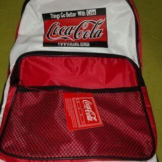 コカ・コーラのリュック。新品です。