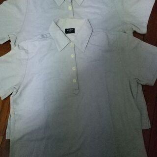 UNIQLOのポロシャツ2枚組で。Sサイズ
