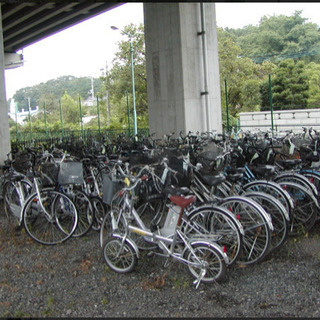 放置自転車買取ります。