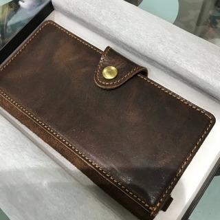 【ネット決済】美品、皮製携帯ケース