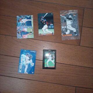 【ネット決済】野球カード5枚セット