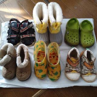 靴、ブーツなどまとめ売り6足 14cm