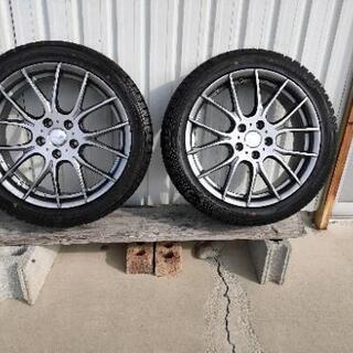 美品  お得な冬用タイヤホイールセット
