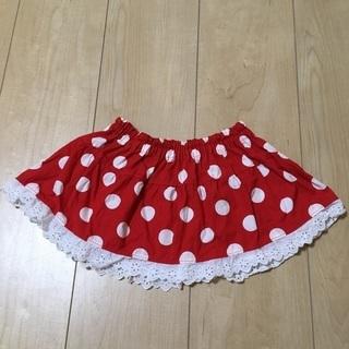 美品 ミニーちゃん 水玉 スカート コスプレ 70 80 90