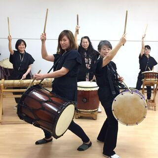 和太鼓教室 女性のための和太鼓や民舞の楽しさあふれる教室です!