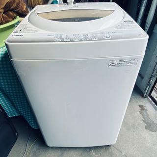 TOSHIBA 東芝製 5kg   2015年式洗濯機です。