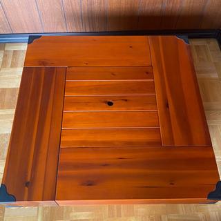 囲炉裏付きテーブル