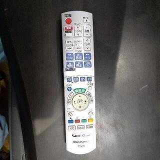 パナソニック DVDレコーダーのリモコン