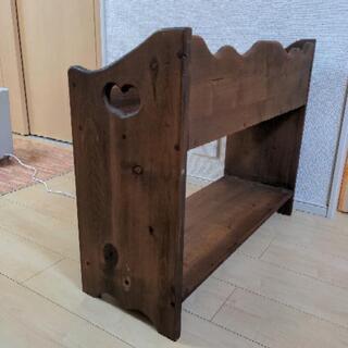 【差し上げます】木製プランター - 家具