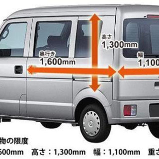 横浜市発☆関東内☆軽貨物配送4500円~(配送代行、運搬)