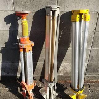 土木測量の脚 3セット
