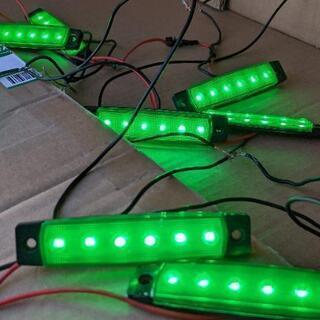 車載LED電飾プレート(8個)