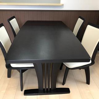 【更に値引きしました❣️定価86,000円】ダイニングテーブル5...