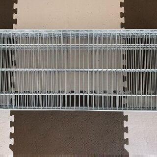 ルミナススチールラックの棚4枚W91.5×D35.5(径25)